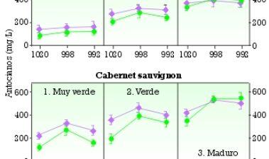 La maceración prefermentativa en frío: Efectos en la extracción del color y los compuestos fenólicos, e influencia del nivel de maduración de la uva