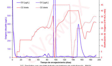 Microoxigenación adaptativa en el envejecimiento de vinos tintos. Importancia del tipo de madera y tamaño del producto alternativo