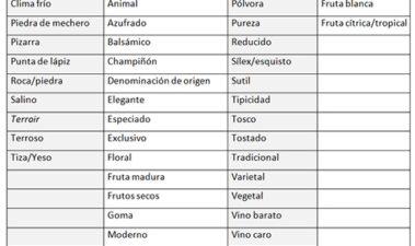 Aplicaciones del ensayo CATA: influencia de la información contenida en la etiqueta en la percepción del atributo de mineralidad en vinos blancos