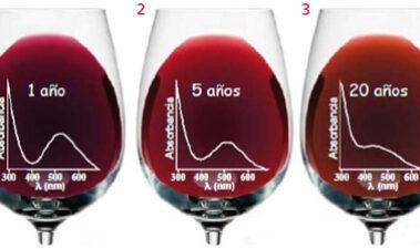 La química del color del vino